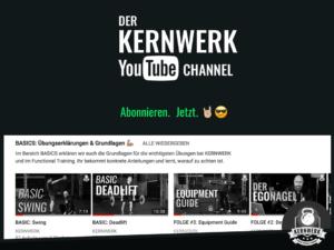 Youtubechannel der Kernwerk App Testbericht