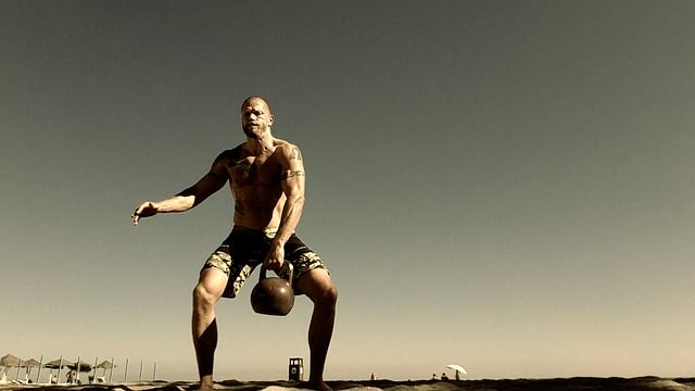 10.000 rep Kettle Bell Workout
