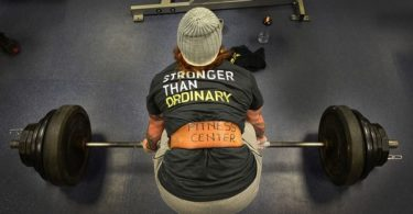 richtige Technik von Kreuzheben im Muskelaufbau