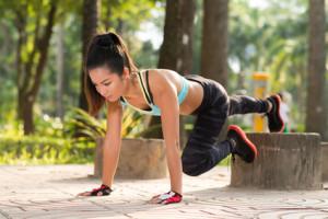 Übungen Training mit eigenem Körpergewicht