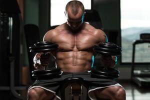Brust-Training, massive Brust