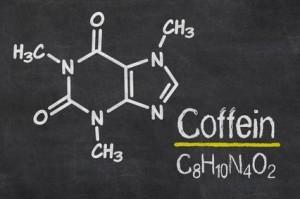 Koffein und Sport chemisch