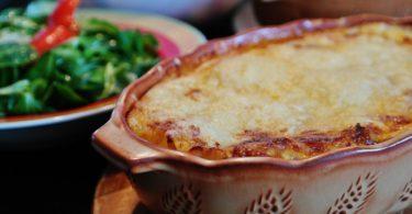 glutenfreie Low Carb Lasagne mit Zucchini