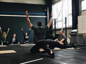 Übung für das Beweglichkeitstraining
