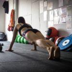 Keep it simple: Frau beim Training