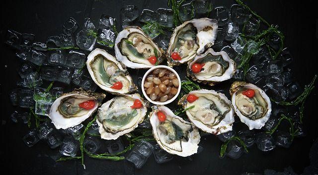 Austern als zinkreiches Lebensmittel zum steigern von Testosteron