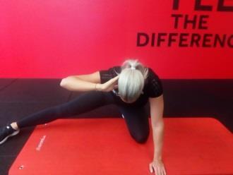 Reha nach Rückenoperation - Dehnung