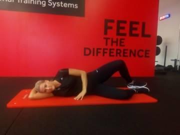 Reha nach Rückenoperation Übung