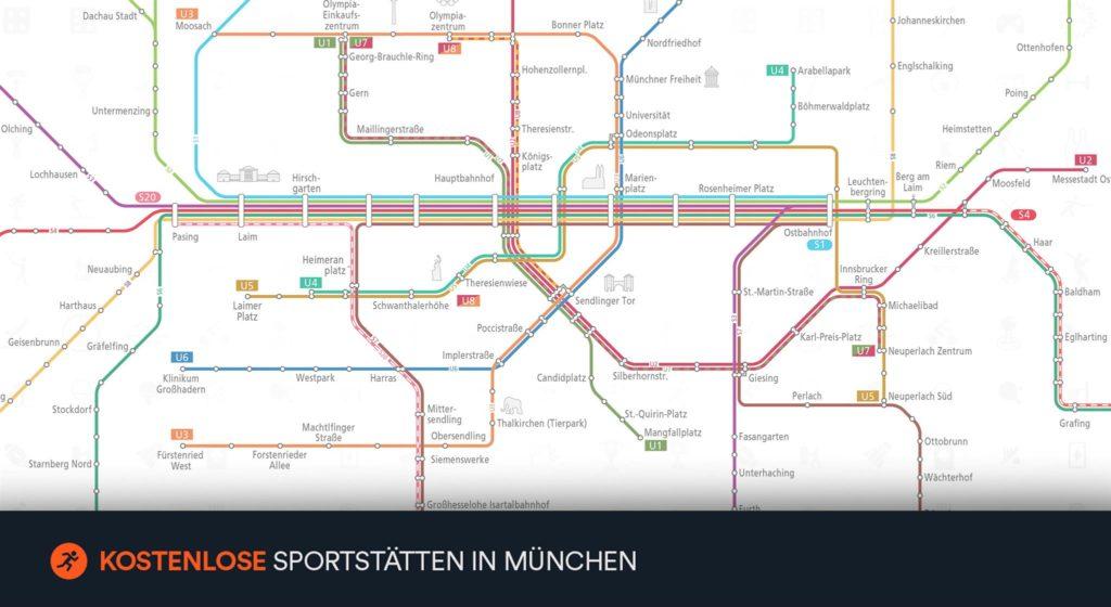 Sportmap München App