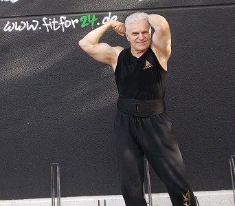 Klaus Berbig mit 68 Jahren