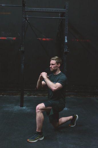 HIIT Workout Ausfallschritte