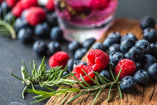 Beeren sind reich an Antioxidantien