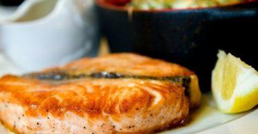 Lachs als High Protein Zutat
